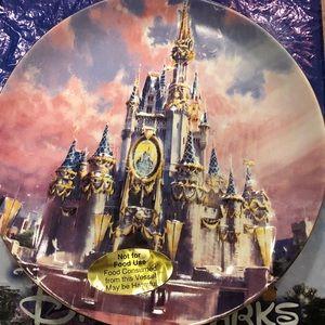 Disneyland 60th Diamond Decorative  Plate